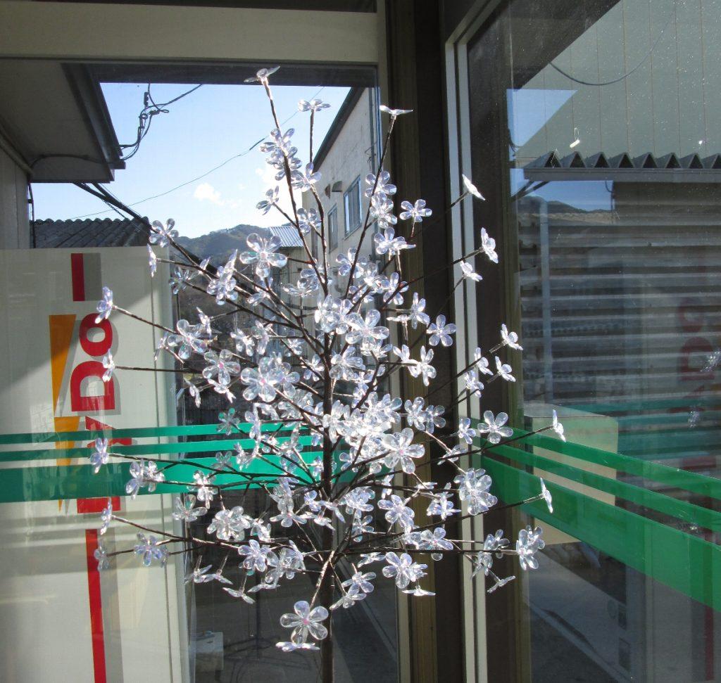 桜飾り完成12
